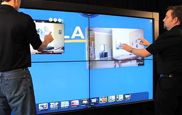 VIDEOWALL TOUCH SCREEN