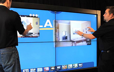 Videowall Touchscreen