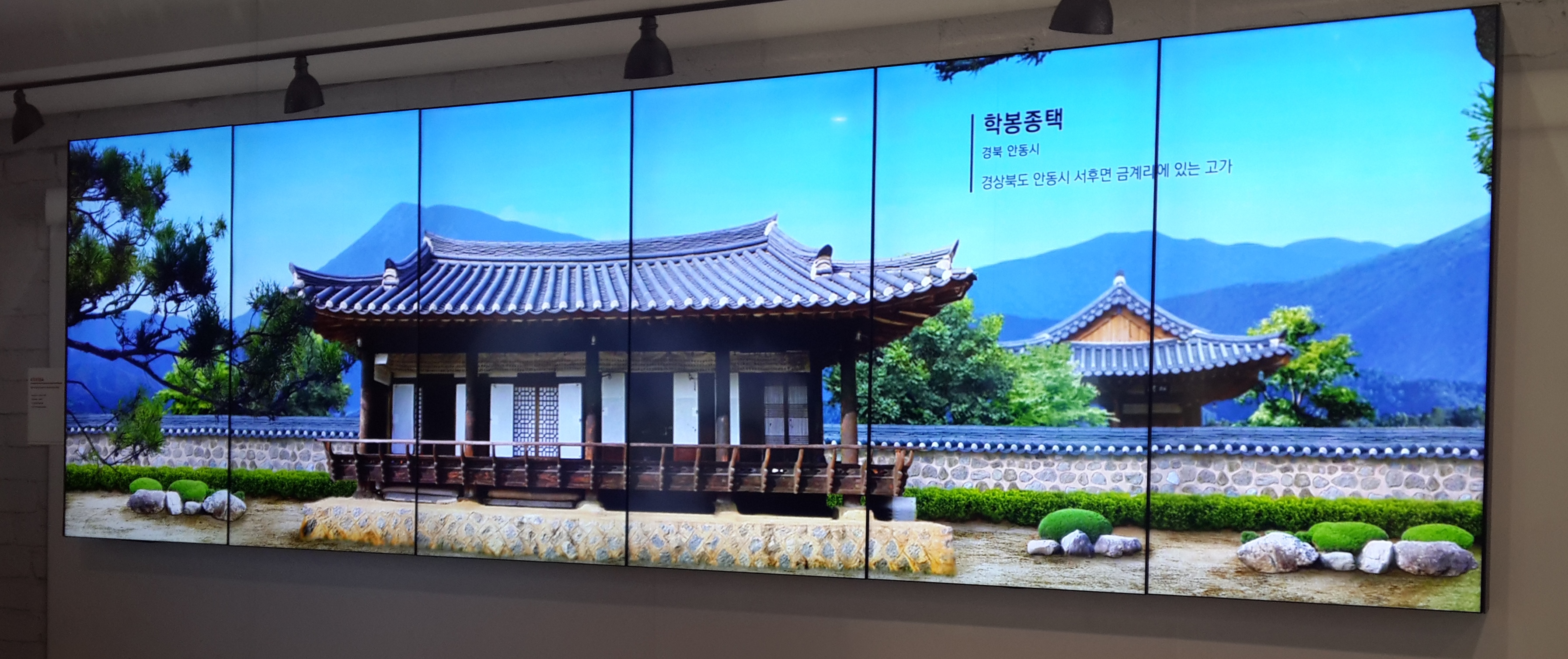 videowall 6x1 vertical